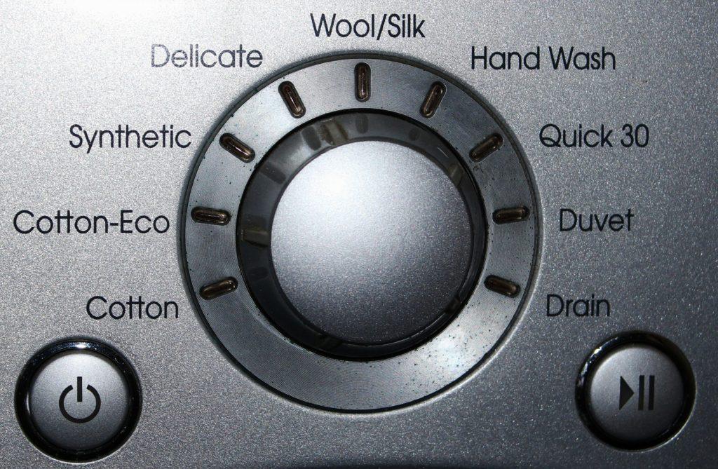 Kussen wassen